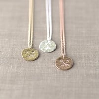 Crossed Arrows Friendship Necklace - Hand Stamped Friend Gift - One (1) Necklace