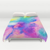 Love and Some Verses Duvet Cover by Jacqueline Maldonado