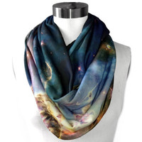 SAMPLE SALE. Mystic Mountain Circle Scarf