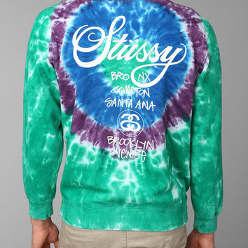 Urban Outfitters - Stussy Tie-Dye Pullover Sweatshirt
