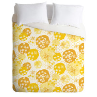 Heather Dutton Busy Bee Duvet Cover