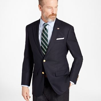 Madison Fit Two-Button 1818 Blazer - Brooks Brothers