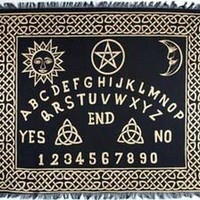 Ouija Pagan Magical Altar Tarot Cloth Tapestry