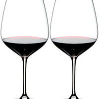 Riedel Set of 2 Heart to Heart Cabernet Glasses | macys.com