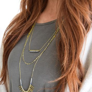 Summer Layering Necklace