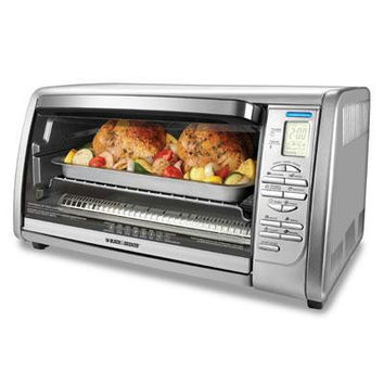 B&d Dig. Touchpad Toaster Oven
