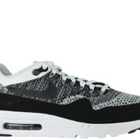 Nike Men's Air Max 1 Ultra Flyknit White Black