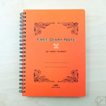 LIFE Free Diary A5 Notebook