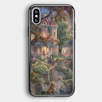 Lady And The Tramp Disney iPhone XS Max Case | Casefruits