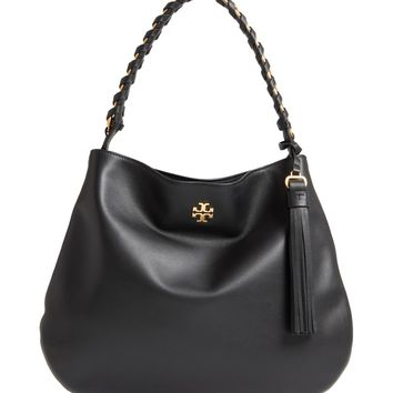 Tory Burch Brooke Leather Hobo | Nordstrom