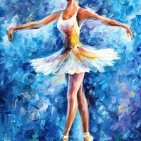 BRAVO — Palette knife Oil Painting on Canvas by Leonid Afremov - Size 24x36. 10% discount coupon - deviantart10off