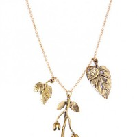 Leaves Necklace by Youreyeslie.com Online store> Shop the collection