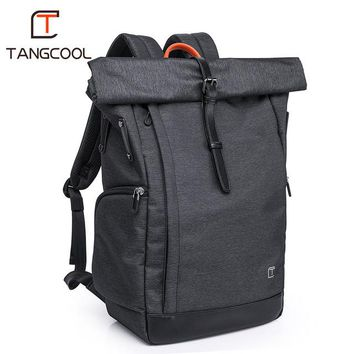 "School Backpack trendy TANGCOOL Brand Unisex Men Business 15.6"" Laptop Practical Boys  Casual Travel Women's Backpacks Luggage Bags AT_54_4"
