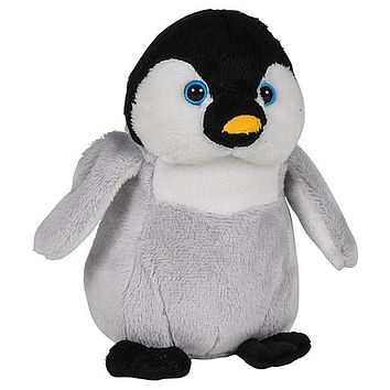7 Inch Baby Penguin Chick Stuffed Animal Plush Zoo Animal Friend Collection