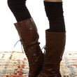 Knee High Socks - Black, Cream, Grey