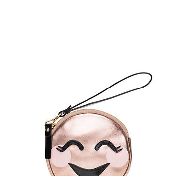 Kate Spade Studio Drive Stassi Coin Purse Rose Gold ONE