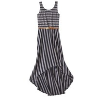 Xhilaration® Junior's Belted High Low Maxi Dress - Assorted Colors