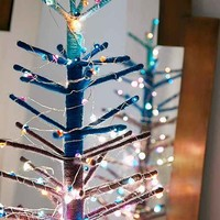 Crystal String Lights- Blue Multi One