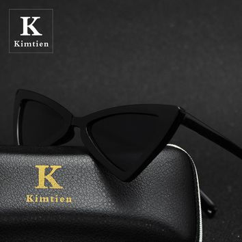 2018 Fashion Cute Sexy Retro Cat Eye Sunglasses Women Vintage Brand Designer Cateye Sun Glasses For Female Ladies UV400