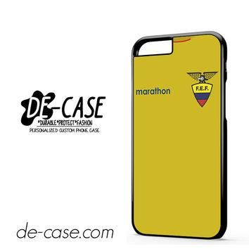 Ecuador Soccer Jersey DEAL-3796 Apple Phonecase Cover For Iphone 6 / 6S