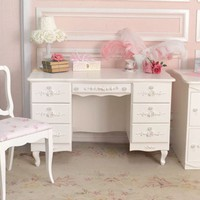 Bella Rose 7 Drawer Desk