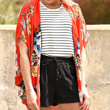 Must Have Kimono - Red