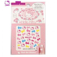 Hello Kitty Nail Art Stickers /Decals: Ribbon $2.99