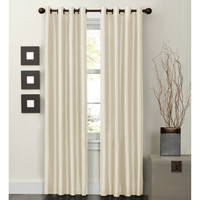 Walmart: Maytex Jardin Faux Silk Thermal Lined Energy Window Panel