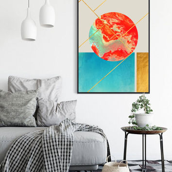 Earth & Sea #society6 #decor #buyart by 83 Oranges™