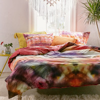 Keeley Rainbow Tie-Dye Duvet Cover | Urban Outfitters