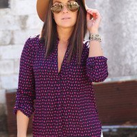 Love Triangle Blouse