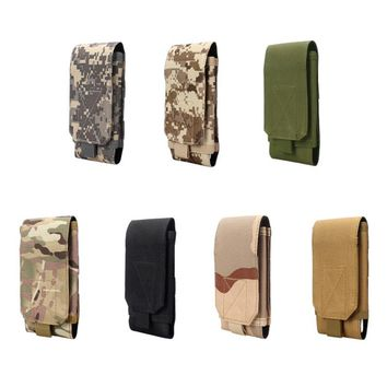 Phone Case Cover For Huawei Mate 10 9/Oneplus 5/Lg Belt Pouch Bag Tactical Holster Military Molle Hip Waist Wallet Purse Zipper