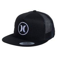 Hurley Block Party Movement Snapback Hat - Mens Backpack - Black - One