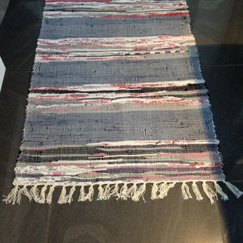 Woven Rug Large Rag Boho Chic Hippie Mat Rugs Handmade Colorful Ss H