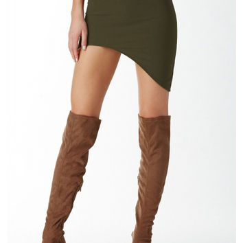 Stand By Me Asymmetrical Skirt