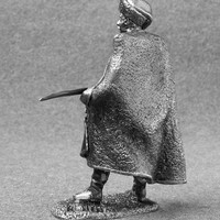 Action Figures - Cossack of Horse Artillery Battalion 1/32 Scale Handmade 54mm Pewter Toy Soldier Tin Metal Miniature Collection Figurines