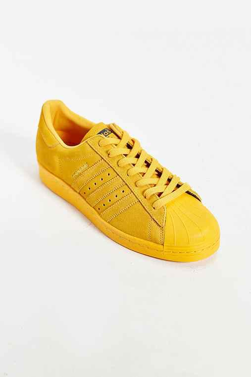 adidas Originals Shanghai Superstar 80 s Sneaker- Gold 27569a31cc