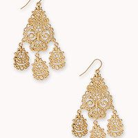 Luxe Baroque Chandelier Earrings