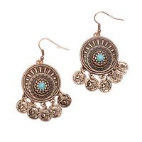 Gypster Coin Earrings
