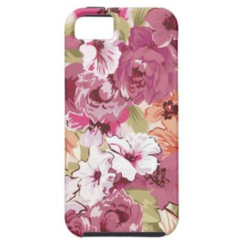 Spectacular Flower Pattern iPhone SE/5/5s Case