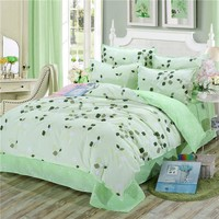 Bedding Set Queen King Size ,double single Duvet Cover 3/4 Pcs linens USA Russia Size, 3pcs Duvet Cover And 1 Pcs Bed Sheet