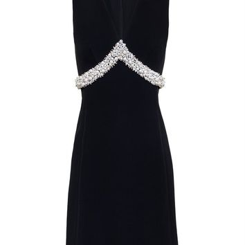 Sleeveless Dress with Embellishment - BALENCIAGA