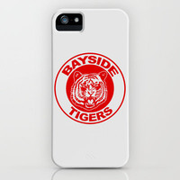 Saved by the bell: Bayside Tigers iPhone Case by dutyfreak | Society6