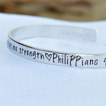 Bible Verse Prayer Cuff Bracelet Best selling items - Nana Jewelry - Sister Jewelry - DIY bracelet - Gifts for Mom from daughter - Scripture