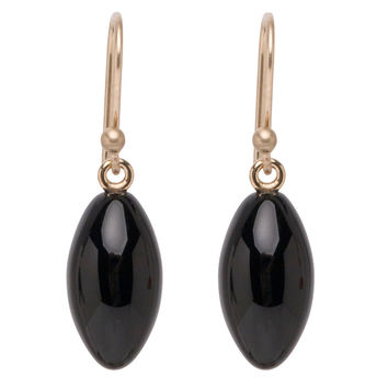 Ted Muehling Onyx Berry Earrings