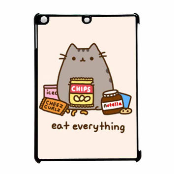 Pusheen The Cat Eat Everything iPad Air Case