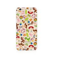 Toy Story Cartoon Pattern iPhone 6s 6 Plus Transparent Clear Soft Case
