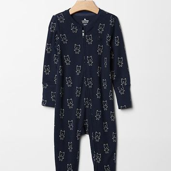 Gap Baby Favorite Bear Footed One Piece