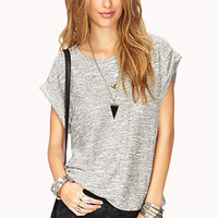 No-Fuss French Terry Top