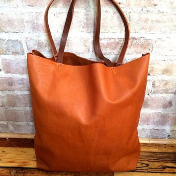 free shipping discount up to 60% vast selection Large camel brown Leather Tote Bag - oversized brown leather tote bag -  large leather bag - supple brown leather tote